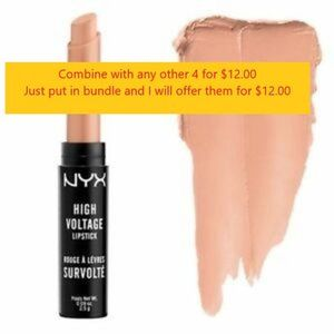 NYX High Voltage Lipstick - HVLS13 - Stone
